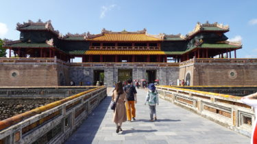 【ダナン】③フエのグエン(阮)朝王宮はベトナム旅行のハイライト。戦禍を乗り越えた歴史が刻まれています。