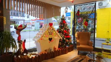 【クチン】②南の島のクリスマスを一緒に楽しんでくれたホテルスタッフのホスピタリティ